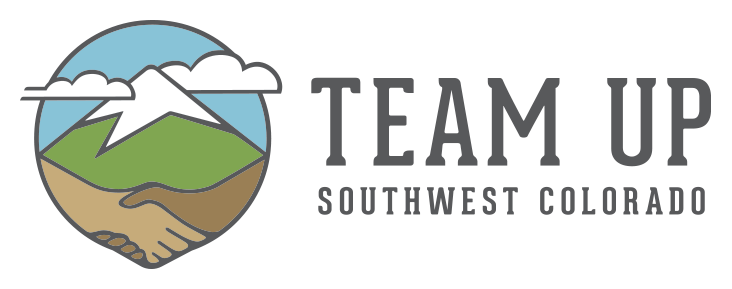 TeamUP Southwest Colorado Horizontal Logo